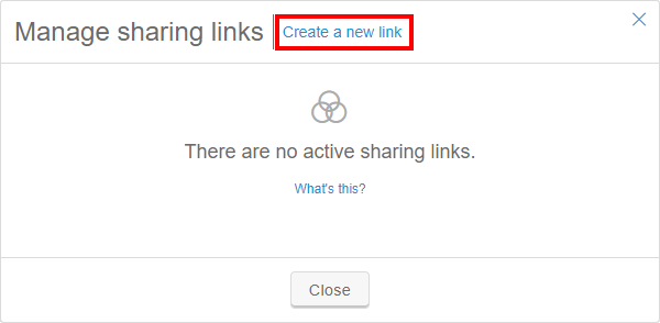 create new link
