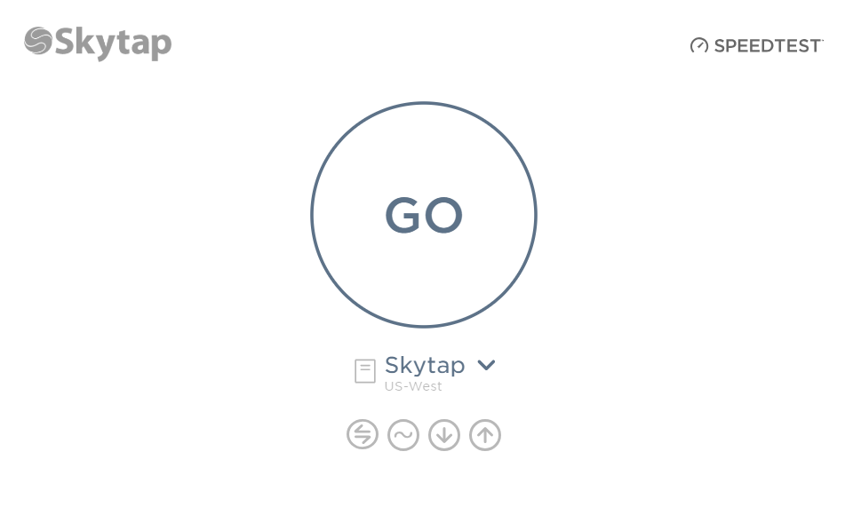 Testing Bandwidth And Latency With Speedtest Skytap Help And Documentation